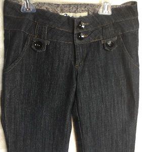 Women's size 7 Boom Boom Jeans Fun Flare!